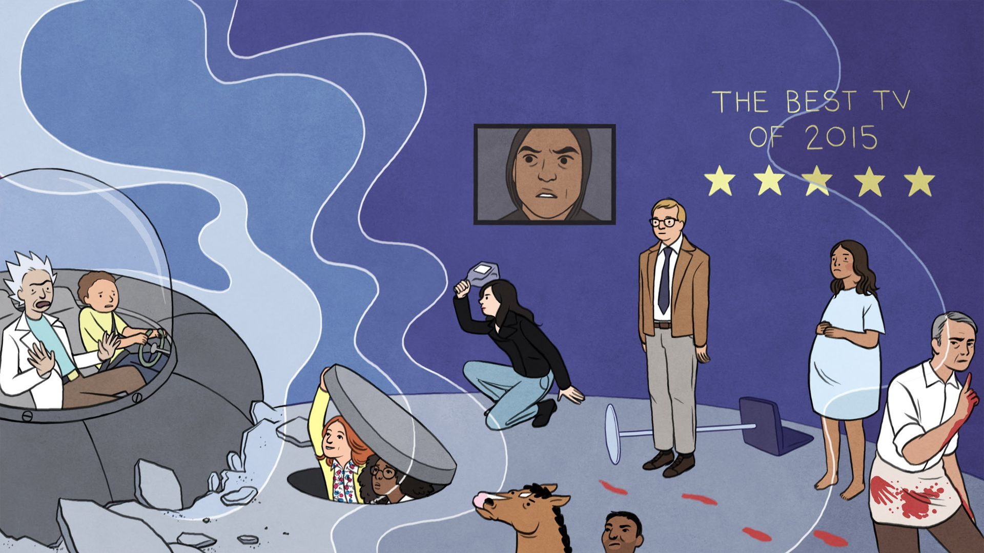 AV Club best of TV 2015